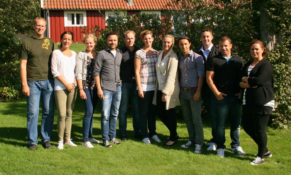 Traineegruppen 2012